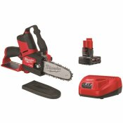 MILWAUKEE M12 FUEL 12-VOLT LITHIUM-ION BRUSHLESS CORDLESS 6 IN. HATCHET PRUNING SAW KIT WITH 4.0 AH BATTERY AND CHARGER