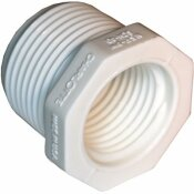 MUELLER STREAMLINE 1-1/4 IN. X 1 IN. PVC SCHEDULE 40 REDUCER BUSHING
