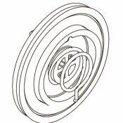 KOHLER .75 IN. RUBBER FAUCET DIAPHRAGM ASSEMBLY