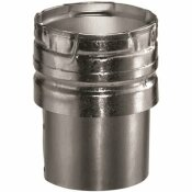DURAVENT 5 IN. X 5.91 IN. DRAFT HOOD CONNECTOR FOR CHIMNEY PIPE