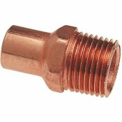 NIBCO 1/2 IN. COPPER PRESSURE FTG X MIP ADAPTER FITTING - NIBCO PART #: I604212