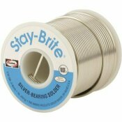 HARRIS STAY BRITE 96/4 1 LB. LEAD FREE SOLDER WIRE 1/8 IN. DIA