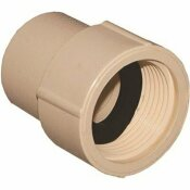 GENOVA PRODUCTS 1/2 IN. FLOWGUARD GOLD CPVC FEMALE ADAPTER