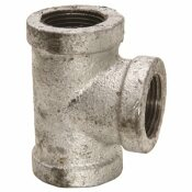 WARD MFG. WARD MANUFACTURING GALVANIZED TEE, 150 PSI, 1/2 IN.