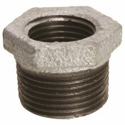 WARD MFG. GALVANIZED MALLEABLE BUSHING 1 IN. X 3/4 IN.