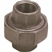 WARD MFG. BLACK MALLEABLE UNION 1-1/4 IN.