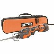 RIDGID THRU COOL 6 AMP 1-HANDED ORBITAL RECIPROCATING SAW KIT - RIDGID PART #: R3031