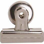 SPARCO 2.3 IN. W BULLDOG MAGNETIC CLIP, SILVER