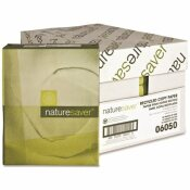 NATURE SAVER COPY PAPER, RECYCLED, 20 LB., 92 BRIGHTNESS, WHITE, LEGAL, 8-1/2X14 IN.