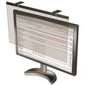 COMPUCESSORY COMPUCESSORY LCD PRIVACY AND ANTIGLARE FILTER, WIDESCREEN, BLACK, FITS 22 IN. SCREENS