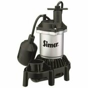 NOT FOR SALE - 3559701 - NOT FOR SALE - 3559701 - STA-RITE PENTAIR WATER PUMPS ZINC SUMP PUMP WITH PLASTIC BASE, TETHERED SWITCH, 1/4 HP - STA-RITE PART #: 2161