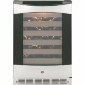 GE PROFILE 57-BOTTLE WINE COOLER IN STAINLESS STEEL