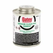 OATEY 16 OZ. PVC CLEAR MEDIUM CEMENT