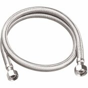 DURAPRO 3/8 IN. COMPRESSION X 1/2 IN. FIP X 30 IN. BRAIDED STAINLESS STEEL FAUCET SUPPLY LINE