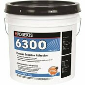 ROBERTS 6300 4 GAL. PRESSURE SENSITIVE ADHESIVE FOR CARPET, TILE AND LUXURY VINYL TILE - ROBERTS PART #: R6300-4