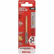 MILWAUKEE SHOCKWAVE 3/16 IN. TITANIUM TWIST DRILL BIT