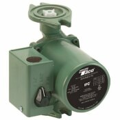 TACO 00 SERIES 1/20 HP THREE SPEED CAST IRON HYDRONIC CIRCULATOR WITH INTEGRAL FLOW CHECK
