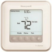 HONEYWELL T6 PRO 7-DAY, 5-1-1, 5-2 PROGRAMMABLE OR NON-PROGRAMMABLE THERMOSTAT 2H/1C