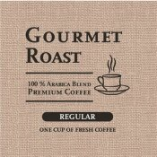 REGULAR INDIVIDUALLY WRAPPED SINGLE-CUP FILTER POD GOURMET ROAST COFFEE (200 PER CASE)