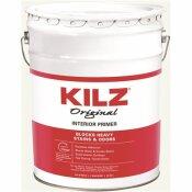 KILZ ORIGINAL 5 GAL. WHITE OIL-BASED INTERIOR SEALER, PRIMER, AND STAIN BLOCKER