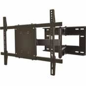 LORELL 37 IN. X 61 IN. 150 LB. MOUNTING ARM FOR FLAT PANEL DISPLAY IN BLACK