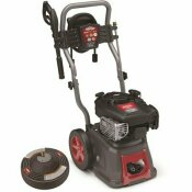 BRIGGS & STRATTON 3000 PSI 2.7 GPM COLD WATER GAS PRESSURE WASHER WITH BONUS 14 IN. SURFACE CLEANER INCLUDED