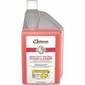 SC JOHNSON PROFESSIONAL 1 QT. HEAVY DUTY NEUTRAL FLOOR CLEANER SQEEZE AND POUR BOTTLE, 6/CASE - SC JOHNSON PROFESSIONAL PART #: 680081