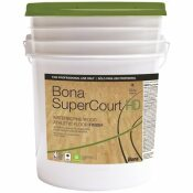 BONA BONA SUPERCOURT  HD FLOOR FINISH, 5 GALLON PAIL