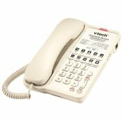 VTECH CLASSIC 1-LINE CORDED PHONE IN ASH