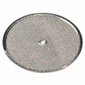ALL-FILTERS ALUMINUM ROUND RANGE HOOD FILTER 9-1/2 IN. RD X 3/32 IN. WITH CENTER HOLE