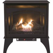PLEASANT HEARTH 23.5 IN. COMPACT 20,000 BTU VENT-FREE DUAL FUEL GAS STOVE