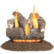PLEASANT HEARTH ARLINGTON ASH 18 IN. VENTED GAS LOG SET