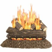 PLEASANT HEARTH WILLOW OAK 30 IN. VENTED GAS LOG SET