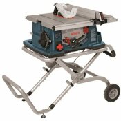 BOSCH 15 AMP CORDED 10 IN. WORKSITE TABLE SAW WITH GRAVITY RISE WHEELED STAND