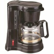 JERDON CM430WD 4-CUP BLACK DRIP COFFEE MAKER WITH AUTO OFF