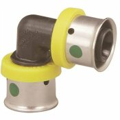 VIEGA PUREFLOW 3/4 IN. X 3/4 IN. POLYMER PRESS 90-DEGREE ELBOW (25-PACK)