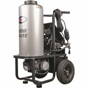 SIMPSON MINI BRUTE 1500 PSI AT 1.8 GPM WITH TRIPLEX PLUNGER PUMP HOT WATER PROFESSIONAL ELECTRIC PRESSURE WASHER