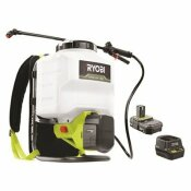 RYOBI ONE+ 18-VOLT LITHIUM-ION CORDLESS 4 GAL. BACKPACK CHEMICAL SPRAYER - 2.0AH BATTERY AND CHARGER INCLUDED