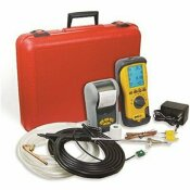 UEI TEST INSTRUMENTS EAGLE X XTENDED LIFE COMBUSTION ANALYZER KIT WITH NO1 NIST CALIBRATED