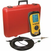 UEI TEST INSTRUMENTS C257-N EOS INDUSTRIAL COMBUSTION ANALYZER W/NOX - NIST CALIBRATED