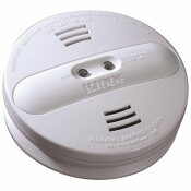 KIDDE HARDWIRE SMOKE DETECTOR WITH 9V BATTERY BACKUP AND IONIZATION/PHOTOELECTRIC DUAL SENSORS