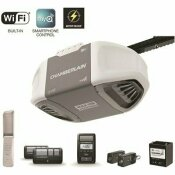 CHAMBERLAIN 1-1/4 HP EQUIVALENT DURABLE CHAIN DRIVE SMART GARAGE DOOR OPENER WITH BATTERY BACKUP