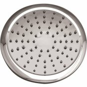 NIAGARA CONSERVATION RAIN 1-SPRAY 8 IN. 1.75 GPM SINGLE WALL MOUNT FIXED ROUND SHOWER HEAD IN CHROME