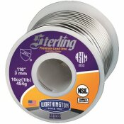 WORTHINGTON 16 OZ. PREMIUM LEAD-FREE SOLID WIRE SOLDER