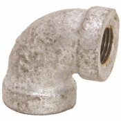 PROPLUS 1/2 IN. LEAD FREE GALVANIZED MALLEABLE 90-DEGREE ELBOW