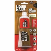 LIQUID NAILS 4 OZ. WHITE LATEX GLUE FOR SMALL PROJECTS AND REPAIRS