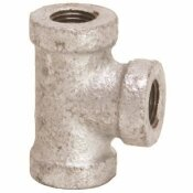 PROPLUS 150 PSI 3/4 IN. X 1/2 IN. X 1/2 IN. GALVANIZED TEE