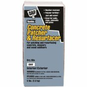 DAP 5 LBS. GRAY CONCRETE PATCHER AND RESURFACER