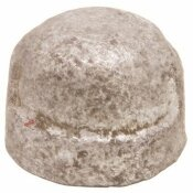 PROPLUS 3/8 IN. GALVANIZED MALLEABLE CAP - PROPLUS PART #: 44152