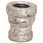 PROPLUS 2 IN. X 1-1/2 IN. GALVANIZED MALLEABLE COUPLING